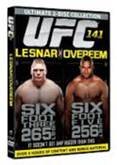 Ultimate Fighting Championship 141 [DVD]