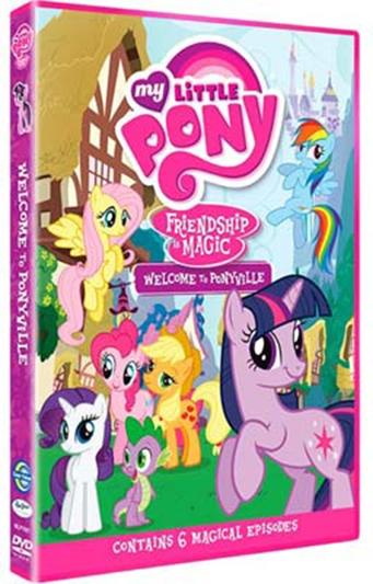 MY LITTLE PONY  - WELCOME TO PONYVILLE [DVD]