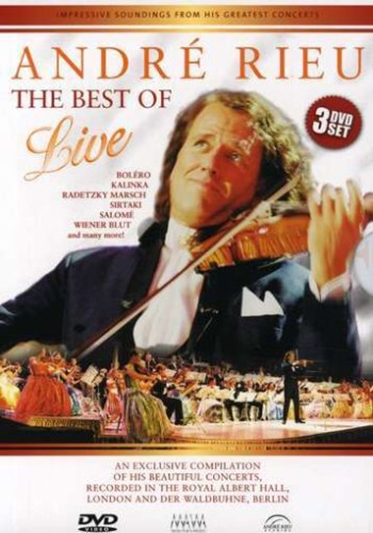 RIEU, ANDRE - THE BEST OF LIVE [DVD]
