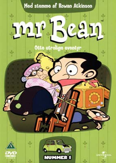 MR. BEAN - ANIMERET - #1 [DVD]