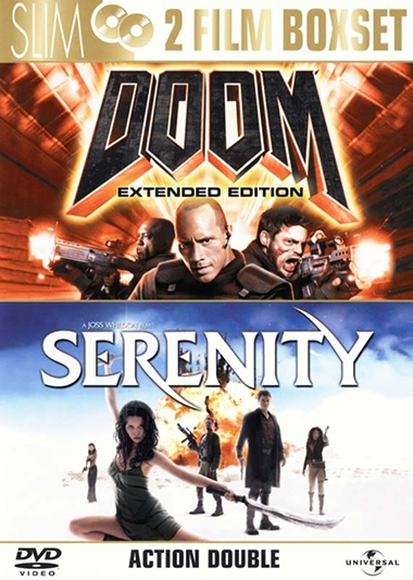 DOOM/SERENITY  - DOUBLE PACK [DVD]