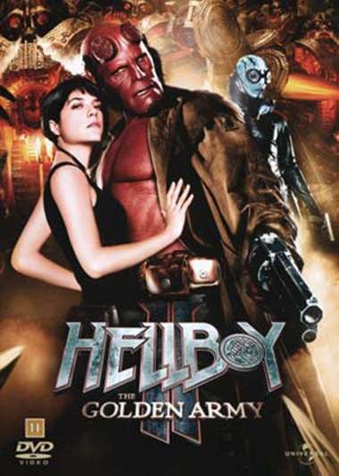 HELLBOY 2 - THE GOLDEN ARMY [DVD]