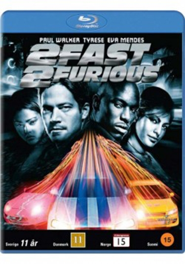 FAST & THE FURIOUS 2, THE - 2 FAST 2 FURIOUS [BLU-RAY]