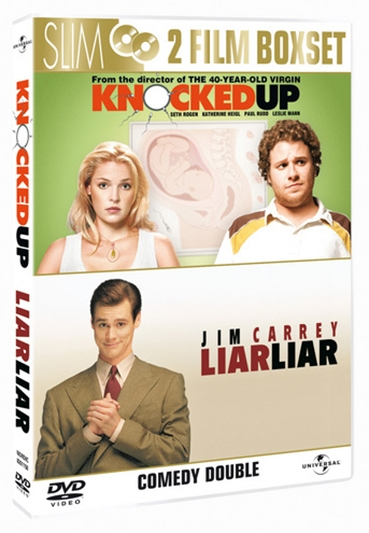 KNOCKED UP/LIAR LIAR  - DOUBLE PACK [DVD]