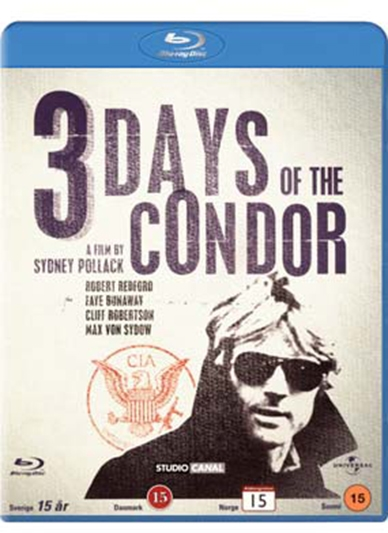 3 DAYS OF CONDOR - STUDIO CANAL COLLECTION  [BLU-RAY]