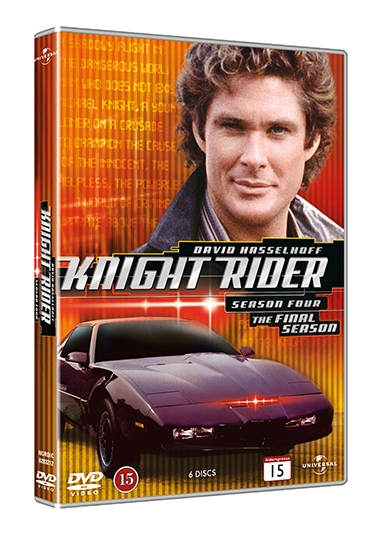KNIGHT RIDER - SEASON 4 [DVD]