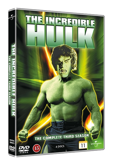 INCREDIBLE HULK - SEASON 3 [DVD]