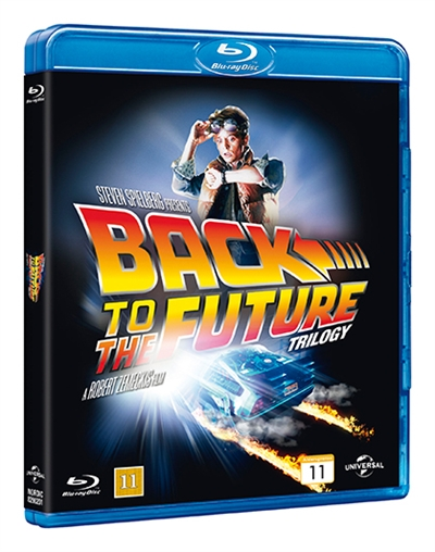 BACK TO THE FUTURE 1-3 - BACK TO THE FUTURE TRILOGY [BLU-RAY]