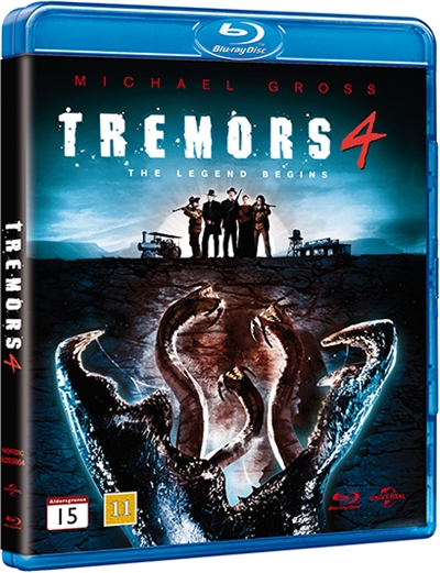 TREMORS 4 - THE LEGEND BEGINGS [BLU-RAY]