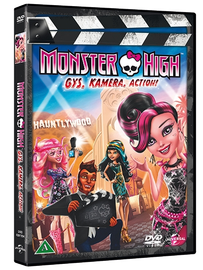 MONSTER HIGH - FRIGHTS, CAMERA, ACTION [DVD]