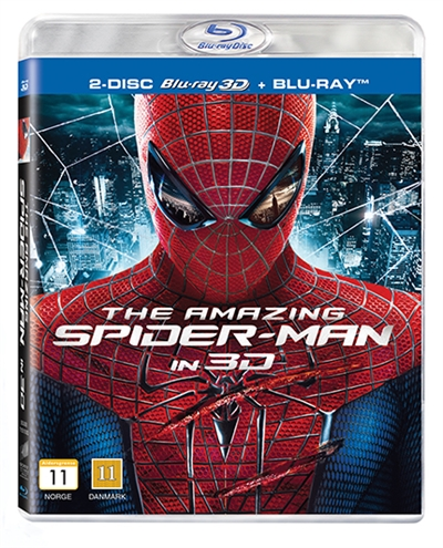 SPIDER-MAN - AMAZING SPIDER-MAN - 3D [BLU-RAY]