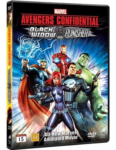 AVENGERS CONFIDENTIAL - BLACK WIDOW & PUNISHER [DVD]
