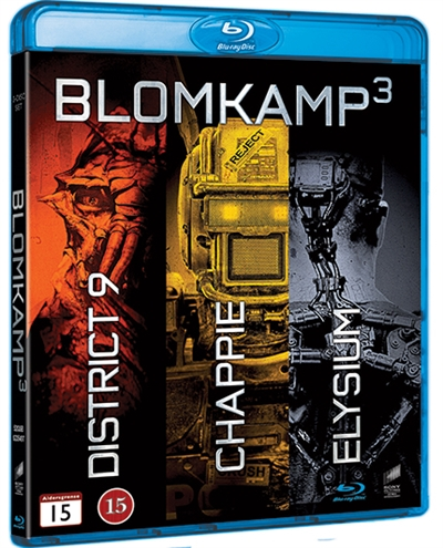 BLOMKAMP COLLECTION - DISTRICT 9 / CHAPPIE / ELYSIUM [BLU-RAY]