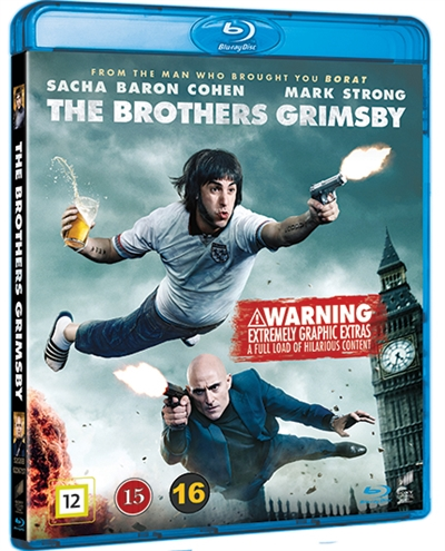 BROTHERS GRIMSBY, THE [BLU-RAY]