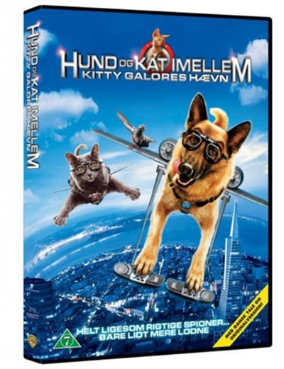 HUND & KAT IMELLEM 2 - KITTY GALORES HÆVN [DVD]