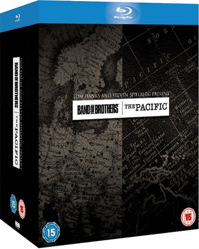 BAND OF BROTHERS + THE PACIFIC BOX [BLU-RAY]