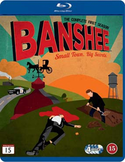 BANSHEE - SEASON 1 [BLU-RAY]