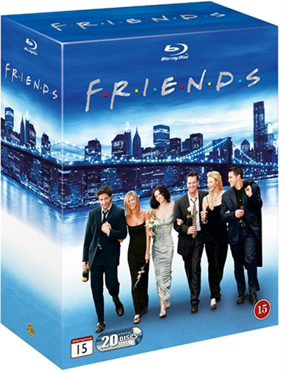 FRIENDS COMPLETE COLLECTION - SEASON 1-10 [BLU-RAY]