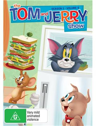 TOM & JERRY SHOW - SEASON 1 - VOLUME 2 [DVD]