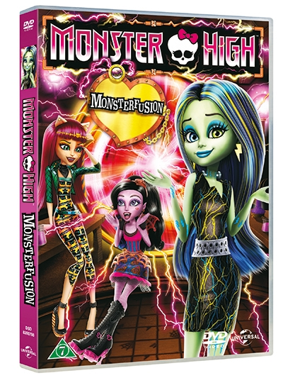 MONSTER HIGH - FREAKY FUSION [DVD]