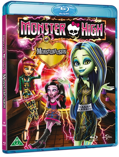 MONSTER HIGH - FREAKY FUSION [BLU-RAY]