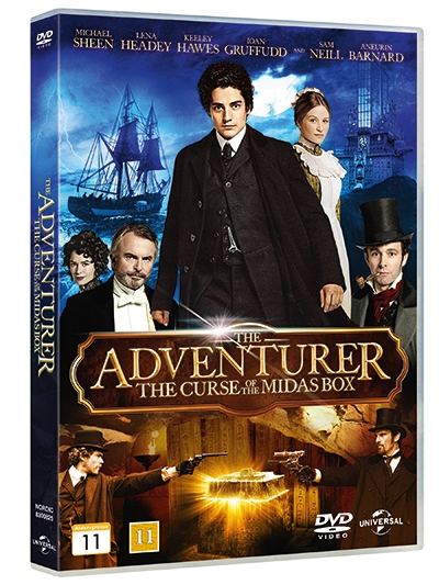 ADVENTURER, THE - THE CURSE OF THE MIDAS BOX [DVD]