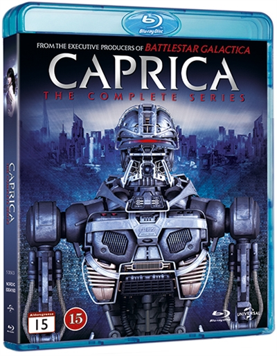 CAPRICA - COMPLETE SERIES (5-DISC) [BLU-RAY]