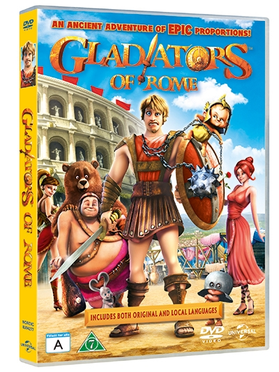 GLADIATORS OF ROME [DVD]