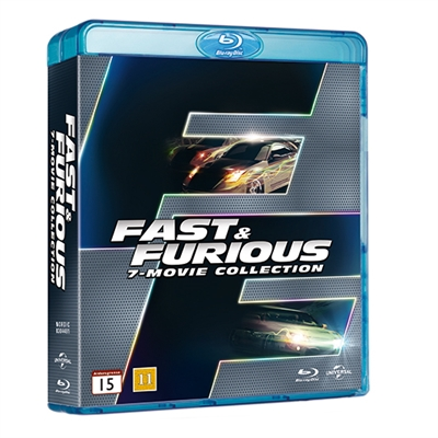 FAST & FURIOUS COLLECTION - FAST & FURIOUS 1-7 [BLU-RAY]