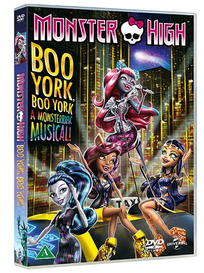 MONSTER HIGH - BOO YORK, BOO YORK [DVD]