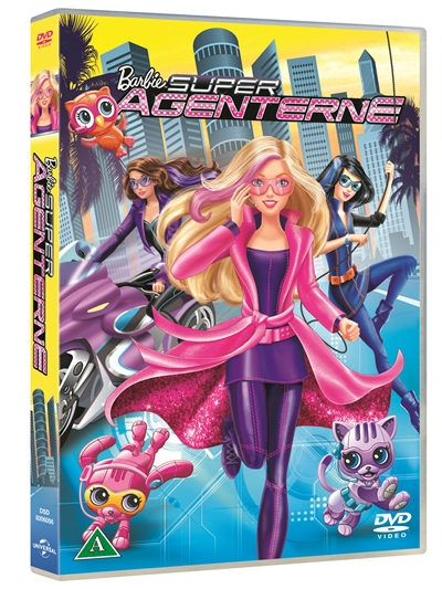 BARBIE - SUPER AGENTERNE [DVD]