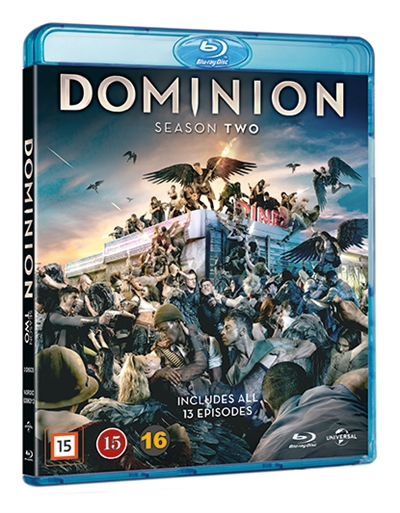 DOMINION - SEASON 2 [BLU-RAY]