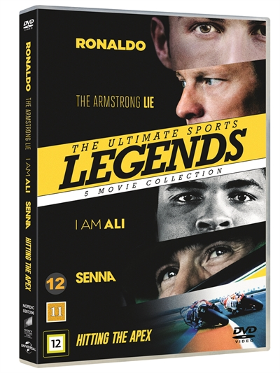 ULTIMATE SPORTS LEGENDS - 5 MOVIE COLLECTION [DVD]