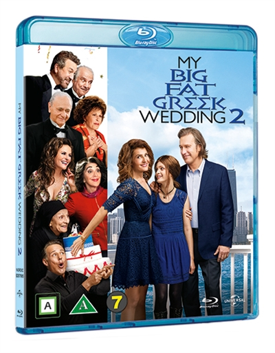 MY BIG FAT GREEK WEEDING 2 [BLU-RAY]