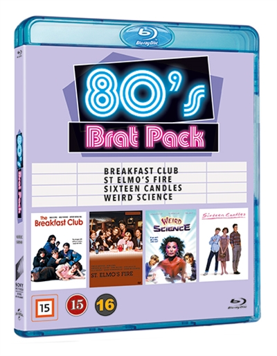 80\'S BRAT PACK COLLECTION [BLU-RAY]