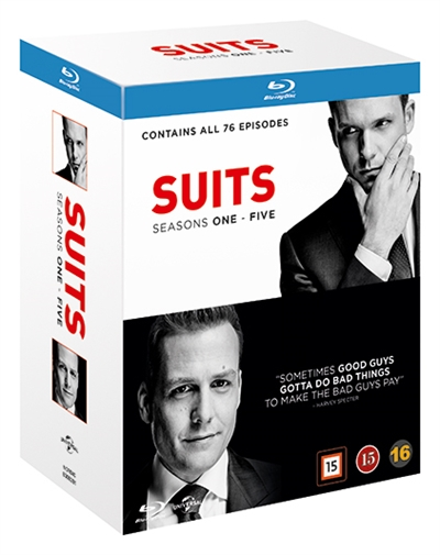 SUITS - SEASON 1-5 BOX-SET [BLU-RAY]