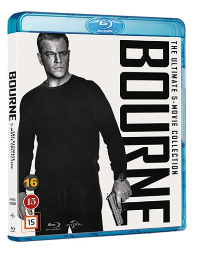 BOURNE 1-5 COLLECTION [BLU-RAY]