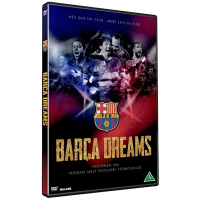 Barca Dreams - The Official Story Of FC Barcelona (2014) [DVD]