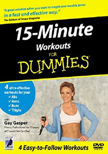 15 minutters workout for dummies [DVD]