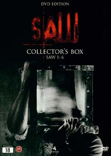 Saw collection - 1-6 [DVD BOX]