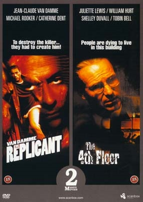 Replicant (2001) + The 4th Floor (1999) [DVD]