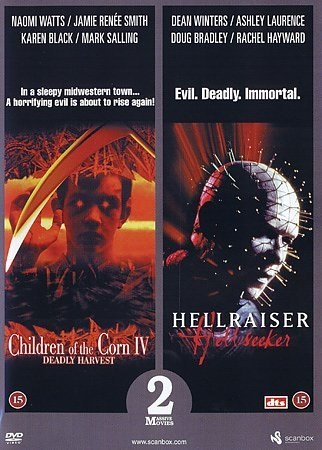 Deadly Harvest (1996) + Hellraiser: Hellseeker (2002) [DVD]