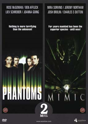 Phantoms (1998) + Mimic (1997) [DVD]