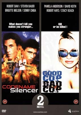 Codename: Silencer (1995) + Raw Justice (1994) [DVD]