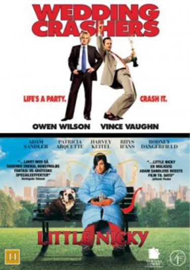 Wedding Crashers (2005) + Little Nicky (2000) [DVD]