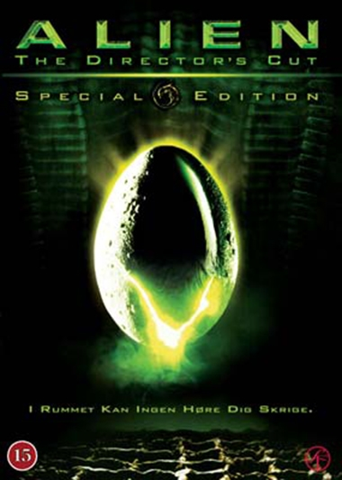 Alien - Den 8. passager (1979) Directors cut [DVD]