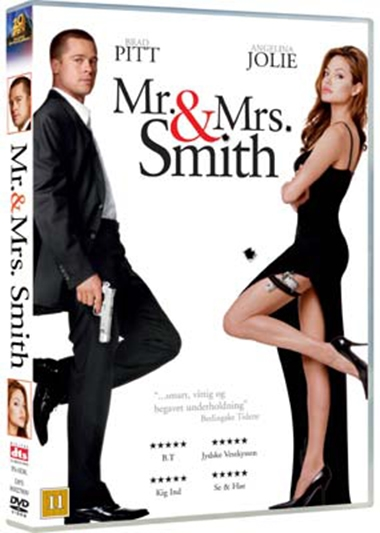 Mr & Mrs Smith (2005) (DVD)