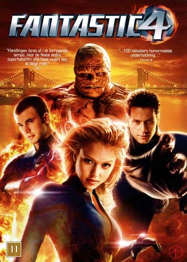 Fantastic Four (2005) [DVD]