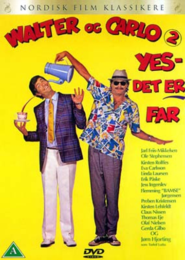 Walter og Carlo - yes, det er far (1986) [DVD]