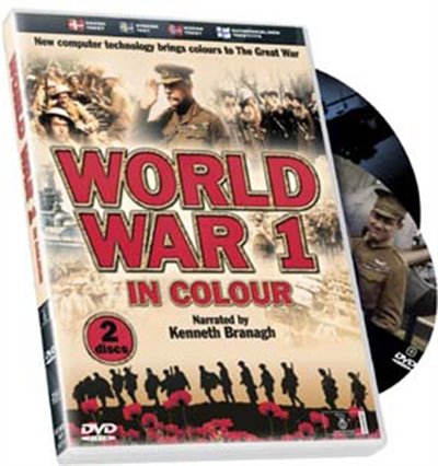 World War 1 in Colour [DVD]